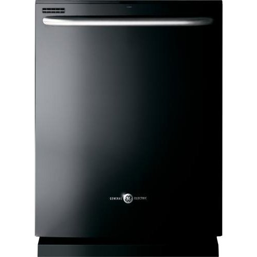 Ge DISHWASHERS 300197  Artistry Built-In 24'' Dishwasher With Top Controls, Black, 4 Cycles / 8 Options