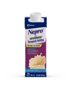 Nepro with Carb Steady Vanilla Containers 24 X 8 ounce Case (48 Tetra Cartons)  2 Case Special by Abbott Nutrition
