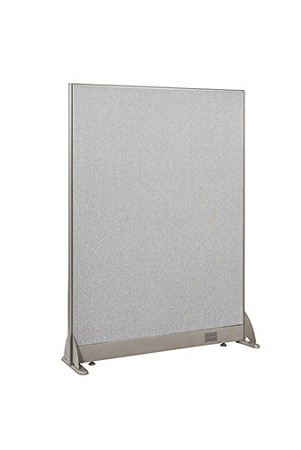 (GOF Freestanding Office Partition, Large Fabric Room Divider Panel, 36