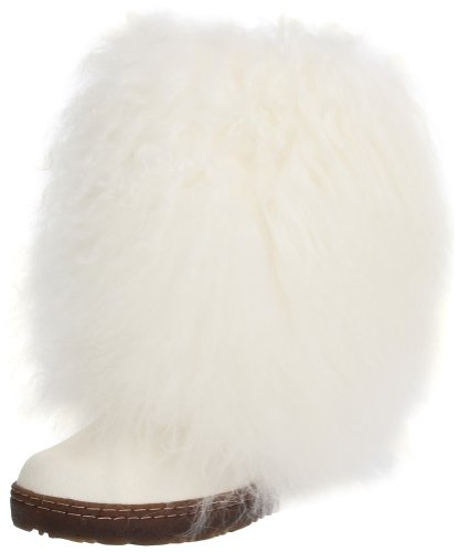 - BEARPAW Women's White Boetis II 8 B(M) US