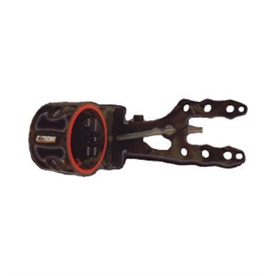 Extreme Archery Rubicon 100 Sight with 4 Pin .019 Rheostat Light, RH/LH, Black by Extreme Archery by Extreme Archery