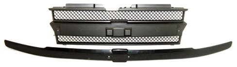OE Replacement Chevrolet Trailblazer Grille Assembly (Partslink Number GM1200470) ()