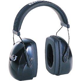 Metal Howard Leight Leightning® Noise-Blocking Earmuffs, Grey Over-Head