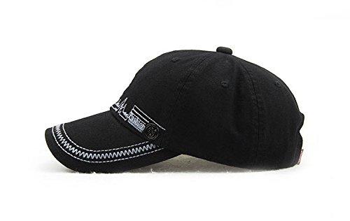 homme Acvip 4 Couleurs Baseball Casquette Unisexe Femme De Noir Voyage Cap Hat Chapeau Ajustable SaPqawdr