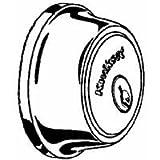 Kwikset 660 Mobile Single Cylinder Deadbolt in Satin Chrome