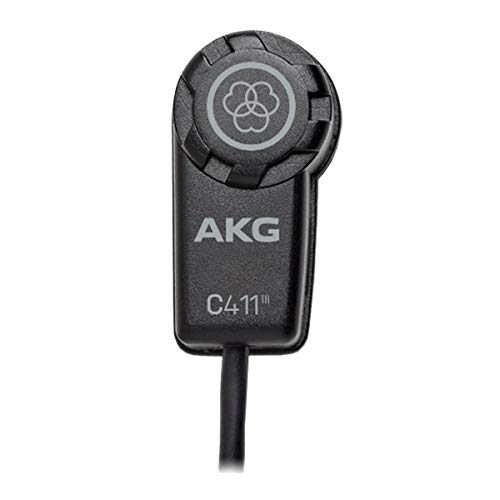 AKG C411L Ultra Light Instrument Mic W/Mini XLR Instrument -