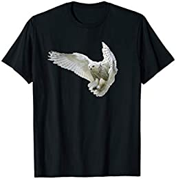 Flying Snowy Owl T-shirt