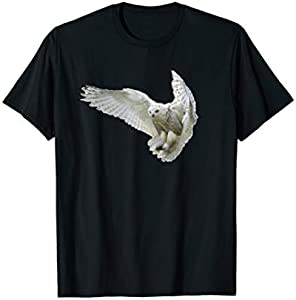 Flying Snowy Owl T-shirt