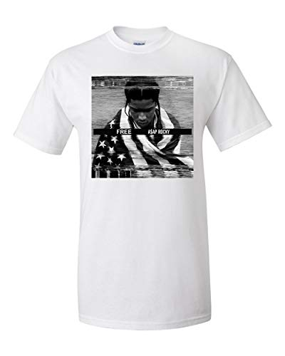 Free ASAP Rocky, A$ap Rocky Graphic T Shirt (Large, White)
