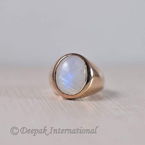 Labradorite Brass Ring,Vintage Jewelry,Dainty Ring,Signet Ring,Personalized Ring,Minimalist ring,Stacking ring,Statement ring,Valentine Gift