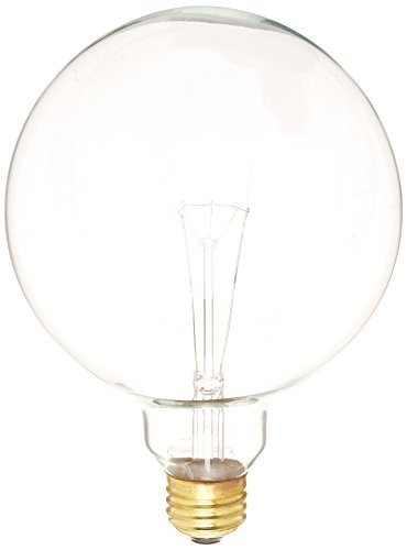 Bulbrite 861073 40 W Dimmable G40 Shape Incandescent Bulb (E26) Base with Medium Screw, 12 Pack Clear by Bulbrite (Image #1)
