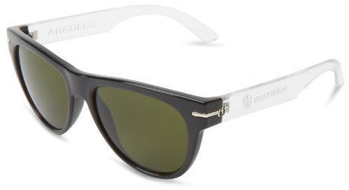 Electric Visual Arcolux Crystal Black Sunglasses