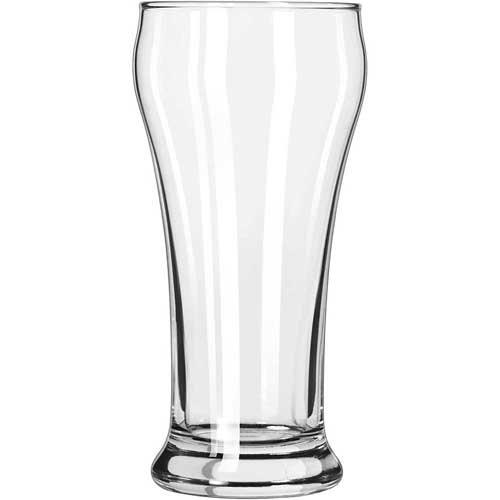Bulge Top Beer Pilsner Glass (Libbey 15 Heavy Base 7 Oz Pilsner 72/Case)
