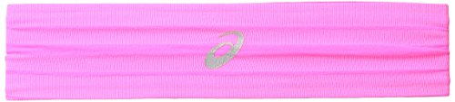 ASICS Illusion Headband, Knockout Pink, One Size