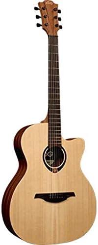 Guitarra electro-acustica lag auditorium lag cutaw: Amazon.es ...