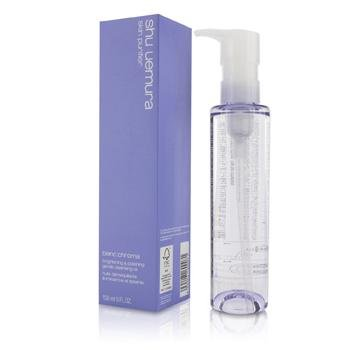 shu uemura blanc chroma brightening and polishing cleansing oil 150ml
