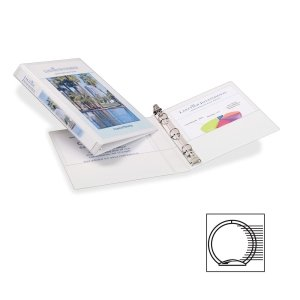 Avery 27726 Mini Durable View Binder w/Gap Free Round Rings