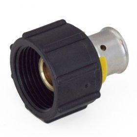 1/2'' PEX Press (Bronze) x 1/2'' ManaBloc Port Adapter - Pack of 6