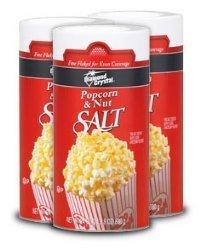 12-1.5 Lb. Diamond Crystal Salt Rounds by Snappy Popcorn