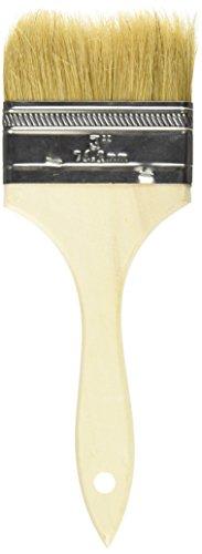 United Abrasives/SAIT 00515 3-Inch Wood Handled Paint Brush, 48-Pack by United Abrasives, Inc.
