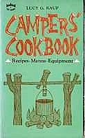 Camper's Cookbook by Lucy G. Raup