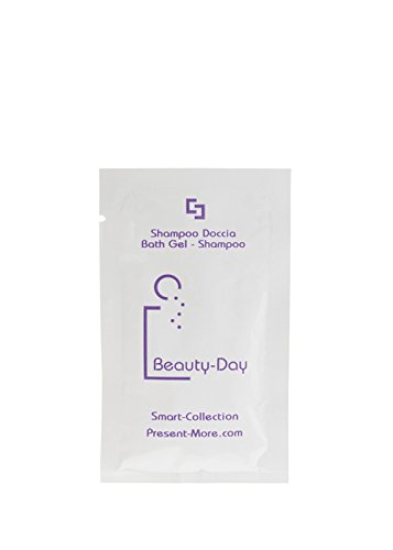 Beauty-Day Shampoo doccia 10ml 500pz Linea cortesia per Albergo hotel b& b AMENITIES Present-More®