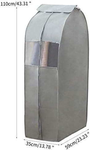 para Colgar Ropa Resistente al Polvo Traje para Colgar Ropa para Guardar Ropa Transparente no Tejida Funda Antipolvo para Ropa Fanville