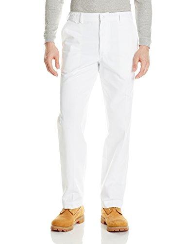 Red Kap Men's Elastic Insert Work Pant, White 34W x -