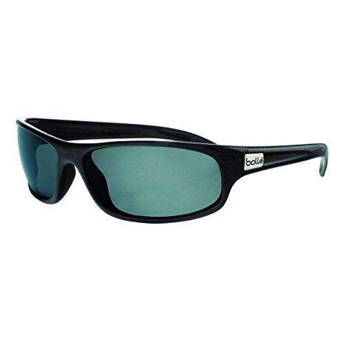 Bolle Anaconda Sunglasses, Shiny Black, Polarized TNS oleo - Shopping Sunglasses Sites