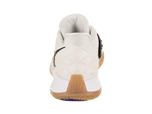 Kyrie Low Nike White Black Basketball Men's Shoe 85CqBw