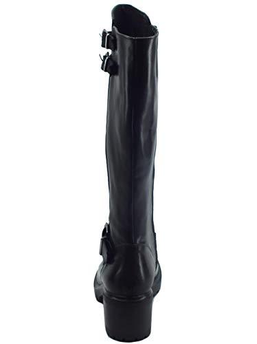Di Bottes Femme Mercante Noir Fiori Pour FnHExz7