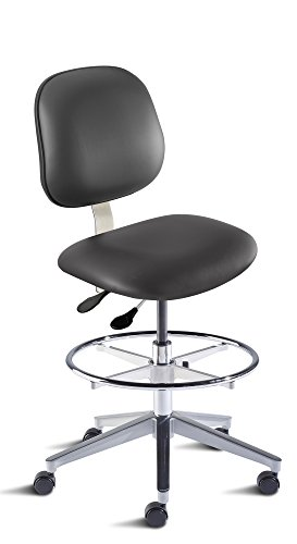BioFit Engineered Products BEA-H-RC-C-ATF-AV126 Belize Series High Bench Height Chair with Aluminum Base