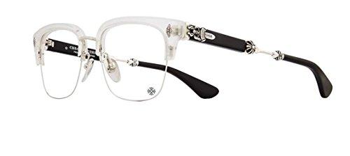 Chrome Hearts - Evagilist - Eyeglasses (Matte Crystal/Shiny Silver-Matte Black, - Frames Eyeglasses Gold 18k
