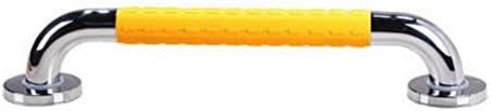 HJXSXHZ366 Ältere Patienten Hilfshandlauf 48CM Nylon Edelstahl-Badezimmer-Handlauf, ältere Sicherheit Anti-Rutsch-Barrierefreie Badewanne WC Get Up Support-Bar (Color : Yellow)