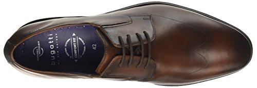 Bugatti 311453021100, Scarpe Stringate Derby Uomo Marrone (Cognac)
