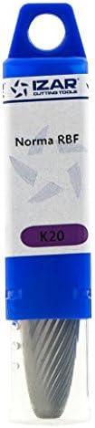 À Jour Izar 55762–Fraise rotative en métal dur norma-rbf ogive bout 5,0x 06,00mm dent. 1  X5umL