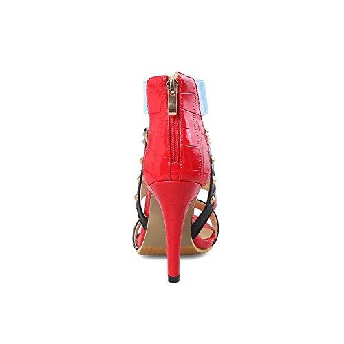 BalaMasa ASL05550 Red Bout Rouge 5 36 Femme Ouvert EU wHzqwU