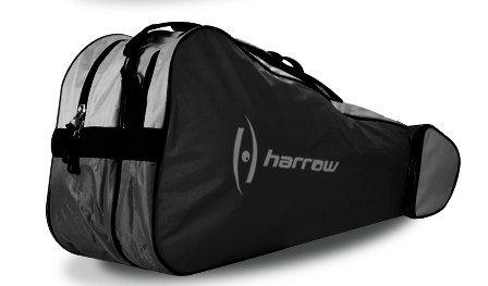 Harrow 3 Racquet Bag Black/Silver