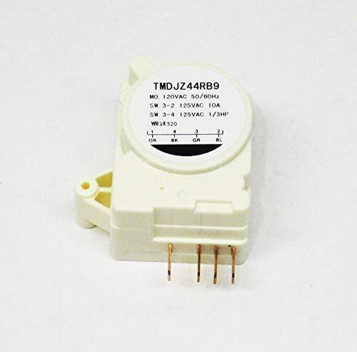 WR9X520 for GE Refrigerator Defrost Timer Clock Control AP2061721 PS310930 (Ge Refrigerator Defrost Timer Control)