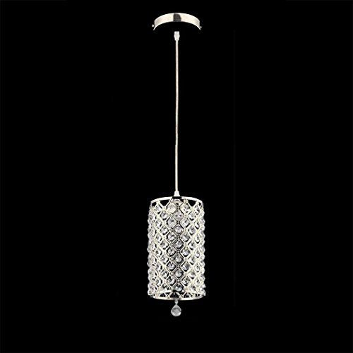 Fashine Crystal Chandelier Ceiling Lamp Fixture Light for Dining Room Cafe Bar Hallway Indoor