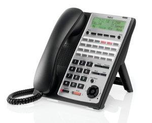 Nec Sl1100 SL1100 24 Button Full-Duplex IP Tel (BK) ()