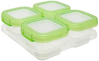 Oxo Tot Baby Blocks Freezer Storage Containers, Green, 4-Ounces (B004QZBEFU)   Amazon price tracker / tracking, Amazon price history charts, Amazon price watches, Amazon price drop alerts