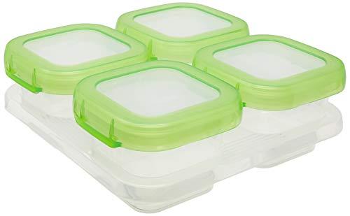 OXO Tot Baby Blocks 6112400 Set de 4 Recipientes para Congelador (118 ml)