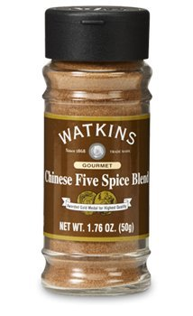 J.R. Watkins Chinese 5 Spice 1.76 ounces 2 pack