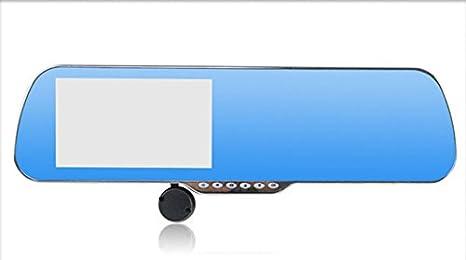 Coche DVR Espejo Retrovisor de la cámara trasera HD 5 inch All In One, WiFi, Android GPS Navi: Amazon.es: Coche y moto