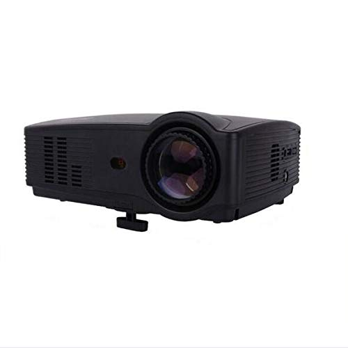 ホームプロジェクタ1080Pマルチポート低騒音ムービーテレビ番組ビデオゲームホームシネマプロジェクタをサポート B07G842LQS