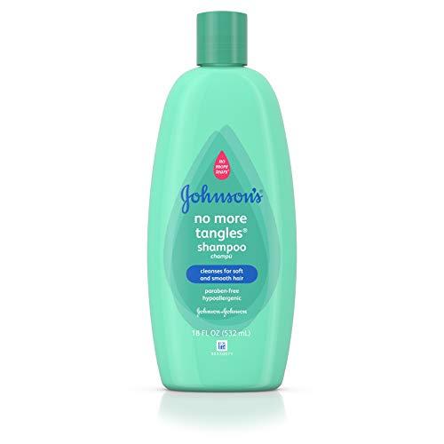 JOHNSON'S No More Tangles Shampoo, 18 oz