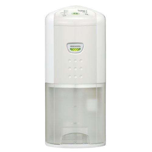 コロナ(CORONA) 除湿機 除湿量6.3L(木造7畳・コンクリート造14畳まで) 10年交換不要フィルター搭載 クールホワイト CD-P6312(W)
