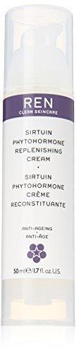 Ren Sirtuin Phytohormone Replenishing Cream, 1.7 Fluid Ounce by REN (Cream Replenishing Ren Phytohormone Sirtuin)