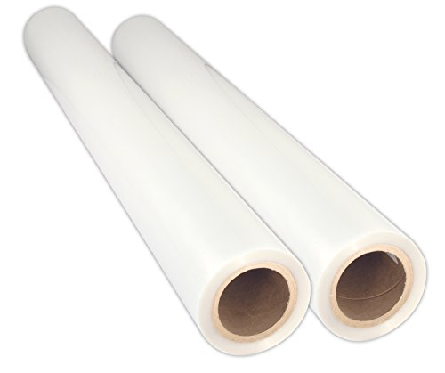 - USI Premium Thermal Low-Temp EVA Roll Laminating Film, 3 Inch Core, 5 Mil, Wide Format, 38 Inches x 200 Feet, Gloss, 2 Rolls